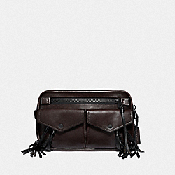 COACH F36250 Utility Belt Bag 25 With Whipstitch MW/MAHOGANY