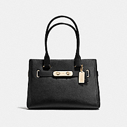 COACH F36488 - COACH SWAGGER CARRYALL LIGHT GOLD/BLACK