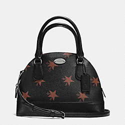 COACH F36518 Mini Cora Domed Satchel In Star Canyon Print Coated Canvas QBBMC