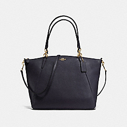 COACH F36591 - KELSEY SATCHEL IN PEBBLE LEATHER IMITATION GOLD/MIDNIGHT