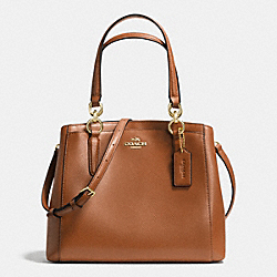 COACH F36642 - MINETTA CROSSBODY IN CROSSGRAIN LEATHER IMITATION GOLD/SADDLE