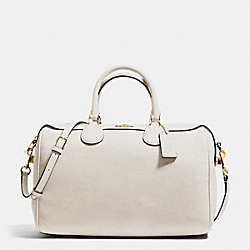 COACH F36672 - BENNETT SATCHEL IN PEBBLE LEATHER IMITATION GOLD/CHALK