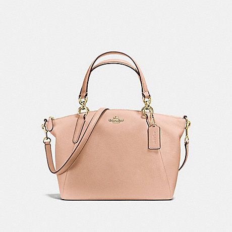 COACH F36675 SMALL KELSEY SATCHEL LIGHT-GOLD/NUDE-PINK