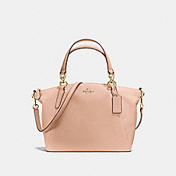 SMALL KELSEY SATCHEL - F36675 - LIGHT GOLD/NUDE PINK