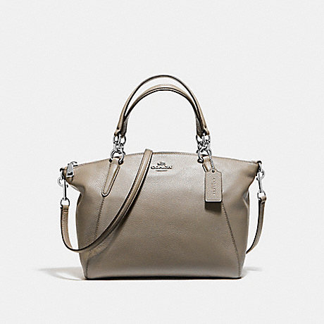COACH f36675 SMALL KELSEY SATCHEL<br>蔻驰小凯尔! 银雾
