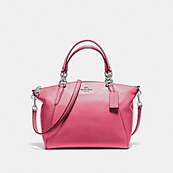 COACH F36675 - SMALL KELSEY SATCHEL SILVER/MAGENTA