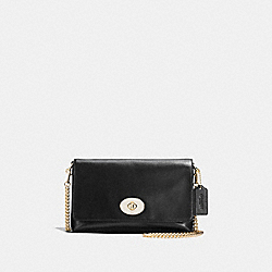 COACH F36824 Crosstown Crossbdoy BLACK/LIGHT GOLD