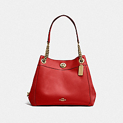 COACH F36855 - TURNLOCK EDIE SHOULDER BAG LI/JASPER