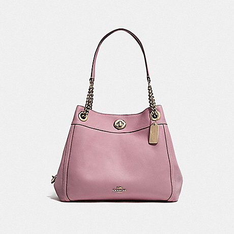 COACH F36855 TURNLOCK EDIE SHOULDER BAG LI/ROSE