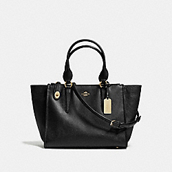 COACH F37140 - CROSBY CARRYALL BLACK/LIGHT GOLD