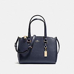 COACH F37145 - STANTON CARRYALL 26 NAVY/LIGHT GOLD