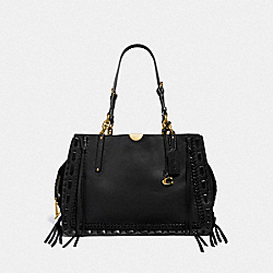 DREAMER TOTE 34 WITH WHIPSTITCH - F37277 - B4/BLACK
