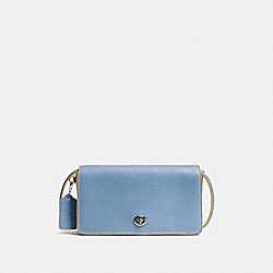 COACH F37296 Dinky CORNFLOWER/BLACK COPPER