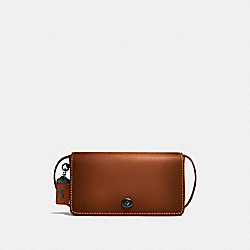 COACH F37296 Dinky 1941 SADDLE/DEEP ORANGE/BLACK COPPER