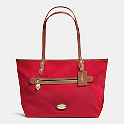 COACH F37336 Tote In Polyester Twill IME8B