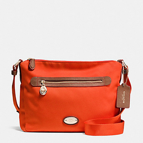 FILE BAG IN POLYESTER TWILL - COACH F37337 - IMPEP