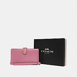 COACH F37390 - BOXED PHONE WRISTLET LI/ROSE