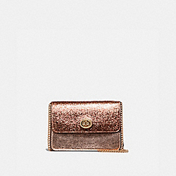 BOWERY CROSSBODY - F37469 - ROSE GOLD/LIGHT GOLD