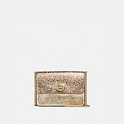 COACH F37469 Bowery Crossbody WHITE GOLD/LIGHT GOLD