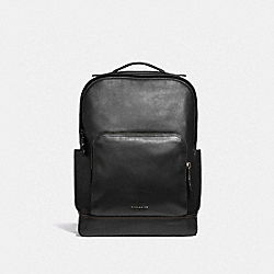 GRAHAM BACKPACK - F37599 - BLACK/BLACK ANTIQUE NICKEL
