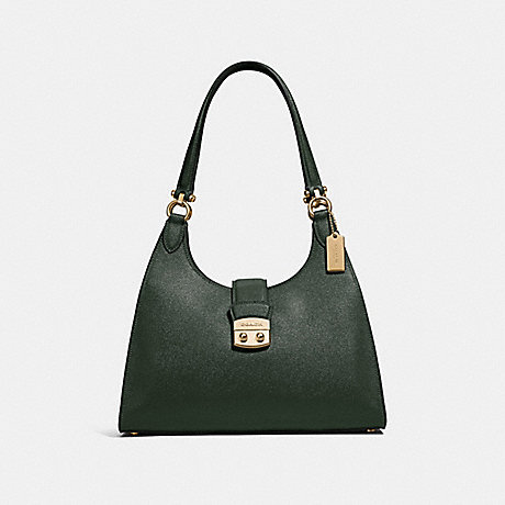 COACH F37606 AVARY SHOULDER BAG<br>蔻驰AVARY单肩包 IVY/仿金