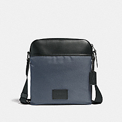 COACH F37609 Crossbody MIDNIGHT NAVY/BLACK ANTIQUE NICKEL
