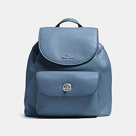 899d50390d COACH F37621 - MINI BILLIE BACKPACK - SILVER POOL