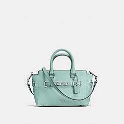 COACH F37635 Mini Blake Carryall SILVER/AQUAMARINE