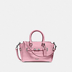 COACH F37635 - MINI BLAKE CARRYALL SILVER/BLUSH 2