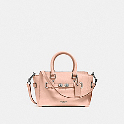 COACH F37635 - MINI BLAKE CARRYALL SILVER/LIGHT PINK