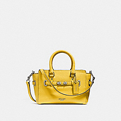 COACH F37635 Mini Blake Carryall CANARY 2/SILVER