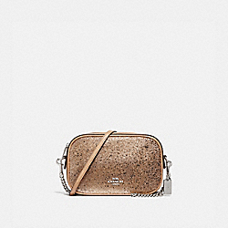 COACH F37748 Isla Chain Crossbody With Star Glitter GOLD/SILVER
