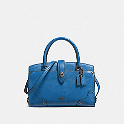 COACH F37779 Mercer Satchel 24 LAPIS/DARK GUNMETAL