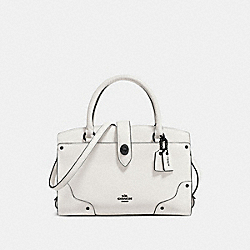 COACH F37779 - MERCER SATCHEL 24 CHALK/MATTE BLACK