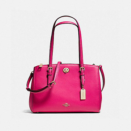 COACH F37782 TURNLOCK CARRYALL 29 CERISE/LIGHT-GOLD