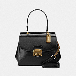 COACH F37833 Avary Crossbody BLACK/LIGHT GOLD