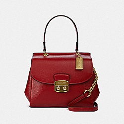 AVARY CROSSBODY - F37833 - RUBY/LIGHT GOLD