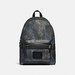 ACADEMY BACKPACK IN SIGNATURE WILD BEAST PRINT - F37841 - QB/CHARCOAL