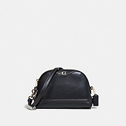 COACH F37863 Ivie Crossbody BLACK/LIGHT GOLD