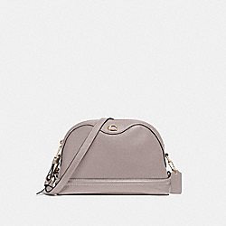 IVIE CROSSBODY - F37863 - GREY BIRCH/LIGHT GOLD