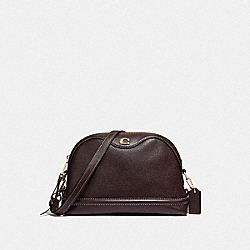 IVIE CROSSBODY - F37863 - OXBLOOD 1/LIGHT GOLD