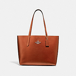 AVENUE TOTE - F37871 - COPPER/BLACK/SILVER