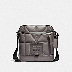 COACH F37967 - RIVINGTON CROSSBODY WITH QUILTING JI/HEATHER GREY
