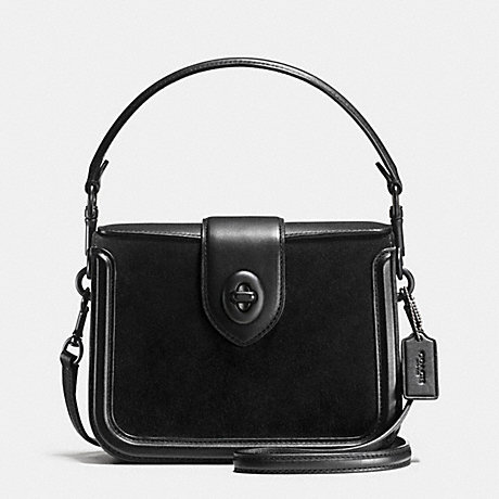 aad7848e28 ... clearance coach f38008 page crossbody in mixed leather black black  6dbde 14231