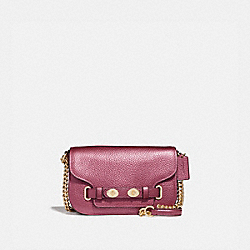 BLAKE CROSSBODY 20 - F38052 - METALLIC ANTIQUE BLUSH/LIGHT GOLD