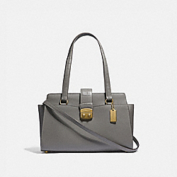 COACH F38082 Avary Carryall HEATHER GREY /LIGHT GOLD