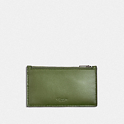 COACH F38144 Zip Card Case GLADE