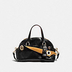 COACH F38190 Outlaw Satchel 36 BLACK/OLD BRASS