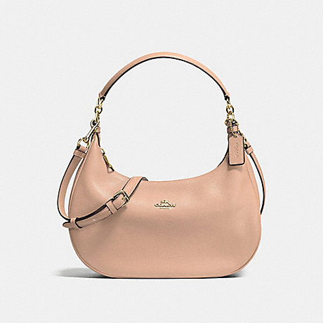 673bc9618f EAST WEST HARLEY HOBO IN POLISHED PEBBLE LEATHER - f38250 - IMITATION GOLD  NUDE