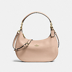 HARLEY EAST/WEST HOBO IN PEBBLE LEATHER - f38250 - IMITATION GOLD/BEECHWOOD